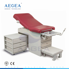 AG-S108 hospital examination equipment surgical obstetric operation chair with cabinet